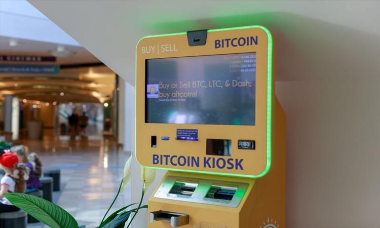 bitkoinų bankomatas